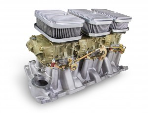 Holley: Small Block Chevy Tri-Power System