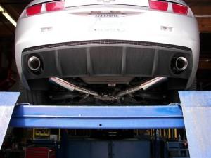 Flowtech (51600FLT): Axle-Back Exhaust Kit for 2010-2015 Camaro SS 6.2L