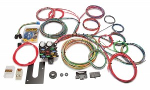 Painless Performance (10102): 21-Circuit Classic Customizable Chassis Harness – Non-GM-Keyed Column