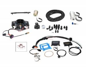Quick Fuel (QFI-500BDM): QFi Master Kit with Black Diamond Finish
