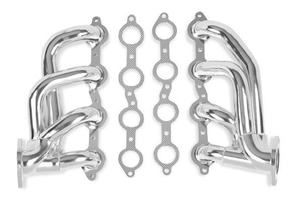 Flowtech (31138FLT): Ceramic Shorty Headers for 10-14 Chevy Camaro V8-6.2L
