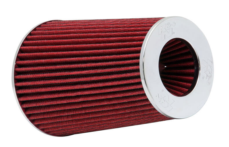 "K&N (RG-1002RD-L): 9.5"" Round Tapered Air Filter with Adjustable Mounting Flange"