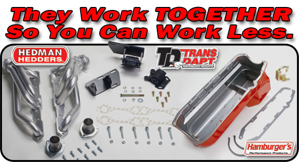 Trans-Dapt Performance (44062): Chevy S-10/SB Chevy V8 Swap-in-a-Box Kit