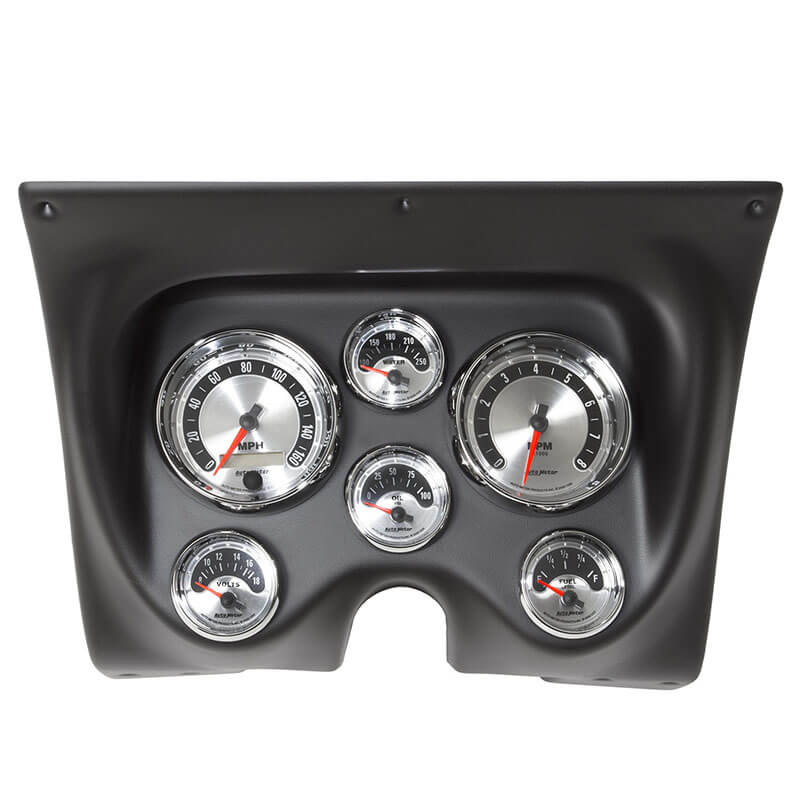 Auto Meter: Direct-Fit American Muscle Dash Kits