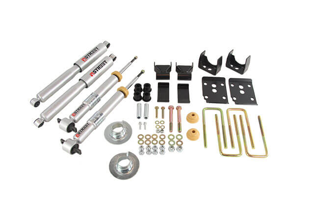 Belltech (1000SP): Lowering Kit for 2015+ Ford F-150 Extended/Crew Cab Short Bed