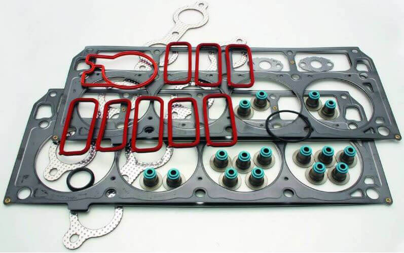 Cometic Gasket (PRO1007T): Top-End Gasket Kit for GM Gen III LS Series Small Block