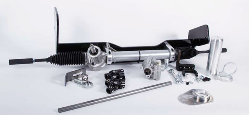 Flaming River (FR319KT): Power Rack and Pinion Conversion System for '67-'72 Chevy C10