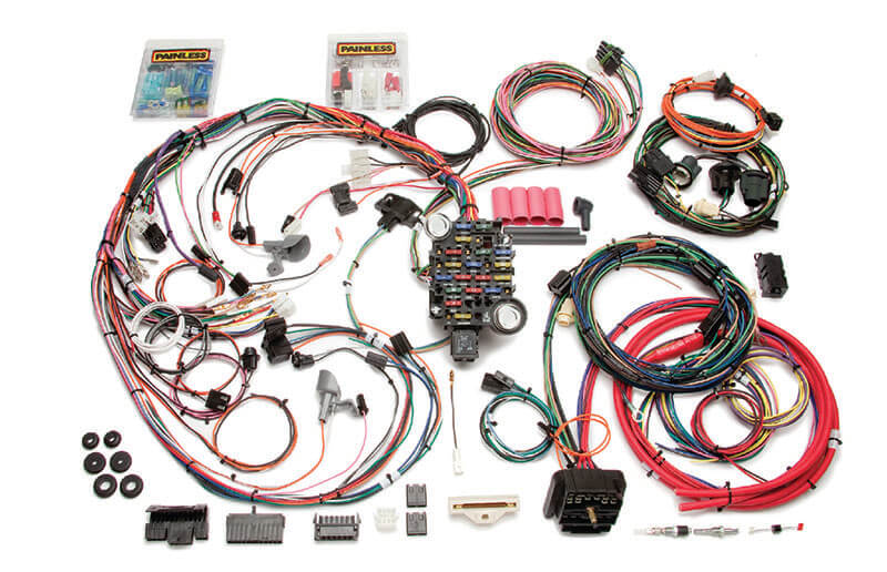 Painless (20130): Direct-Fit 26-Circuit Harness for '70-'72 Chevelle/Malibu