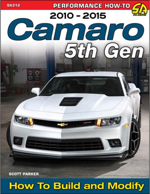 """SA Design (SA312): Cartech's """"Camaro 5th Gen 2010-2015: How to Build and Modify"""" Book"""