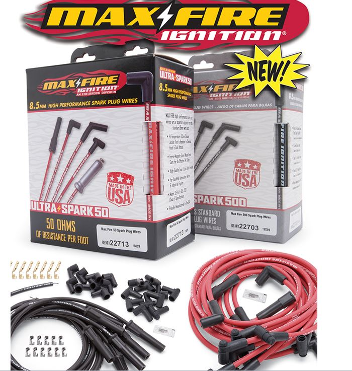 Edelbrock: Max-Fire Ignition Wires