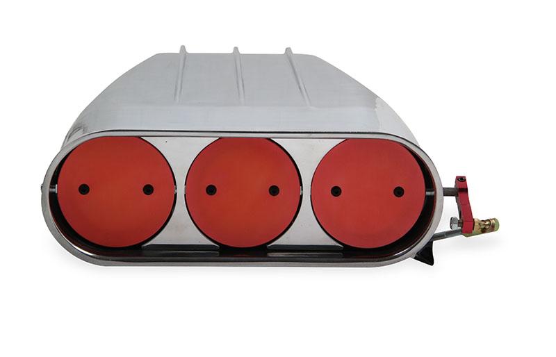 Mr. Gasket (6550G): Street Scoop for Dual Four-Barrel Carburetors