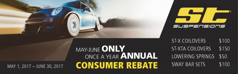 ST Suspensions Once a Year Consumer Rebate