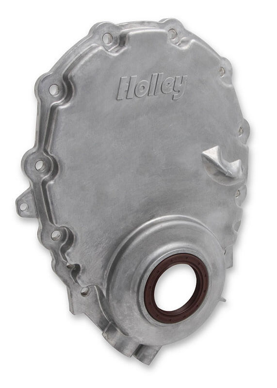 Holley Cast Alumining Timing Chain Covers for Vortec SBC