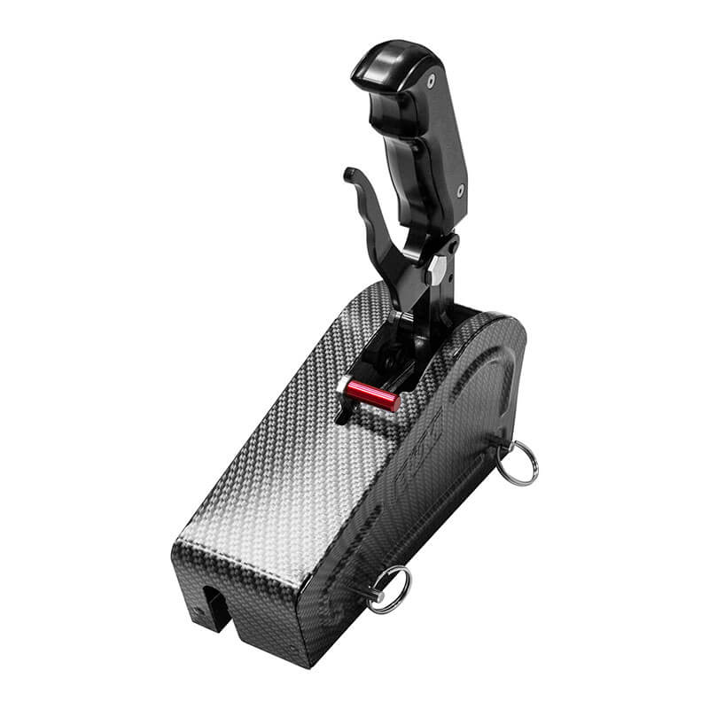 B&M Stealth Magnum Grip Pro Stick Automatic Shifter with Carbon Fiber Finish 81059