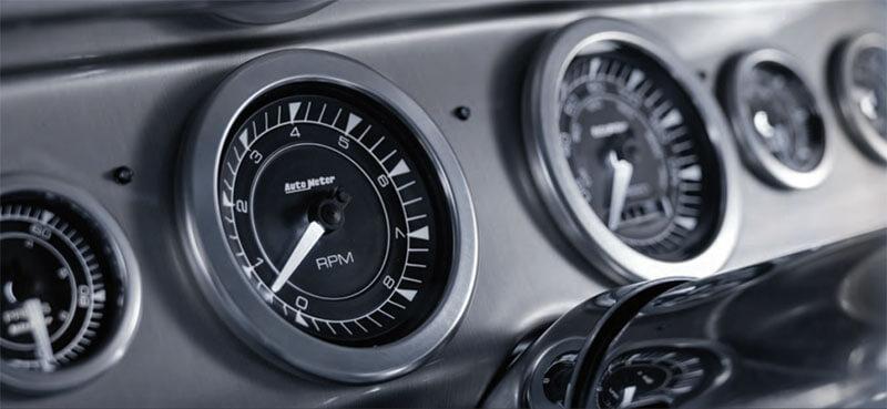 AutoMeter Chrono Series Speedo and Tach Gauges