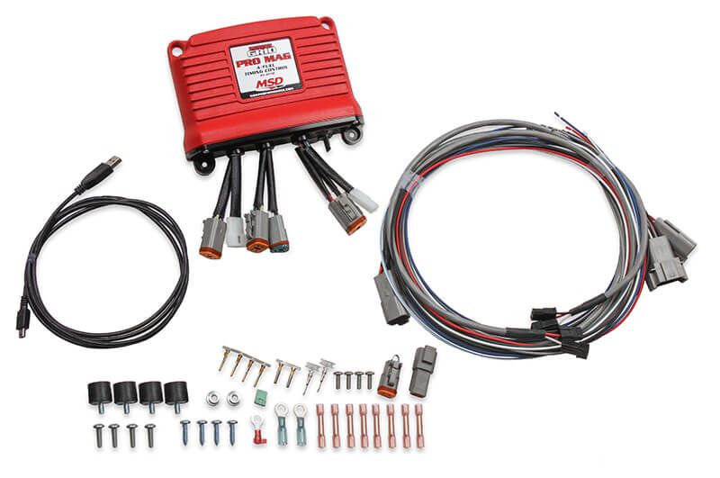 MSD Performance Pro Mag A Fuel Power Grid Controller 8772 msd performance parts pro news