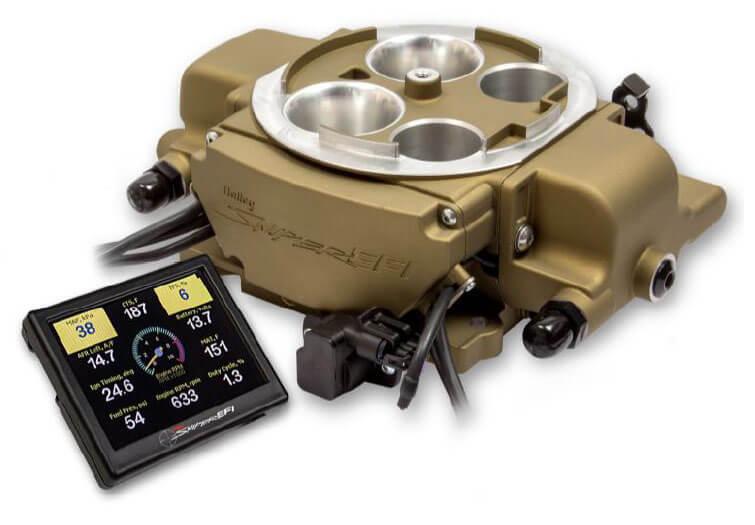Holley Sniper EFI Quadrajet Throttle Body Kit 550-869
