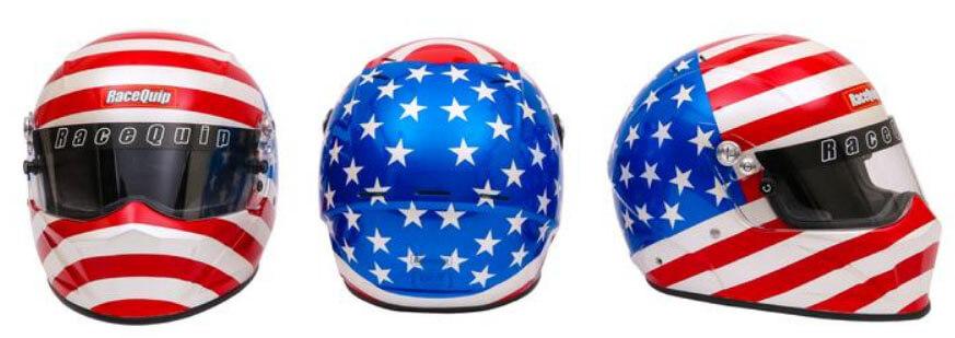 RaceQuip VESTA15 America Helmet