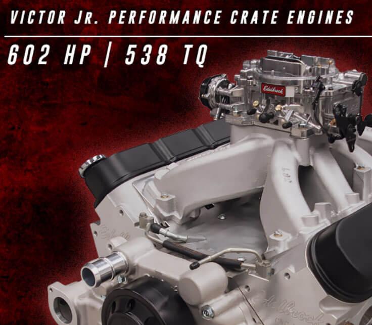Edelbrock Victor Jr. LS 416 Crate Engine 46726