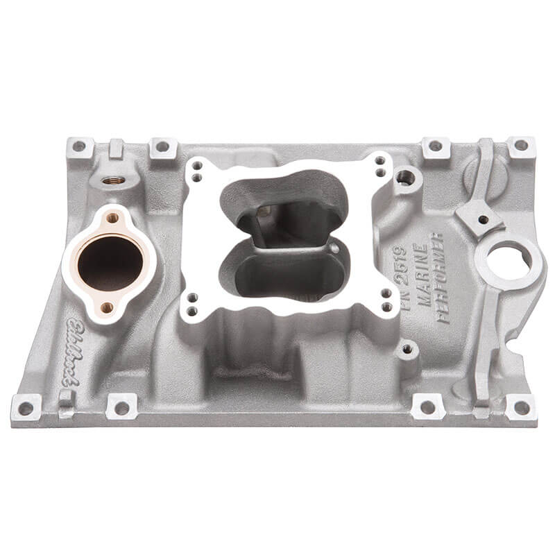 Edelbrock (2519): Marine Performer Intake Manifolds For