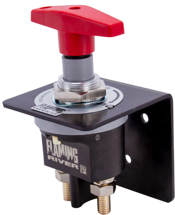 Flaming River (FR1048): Big Switch 500 Racing Battery Disconnect Safety Switch