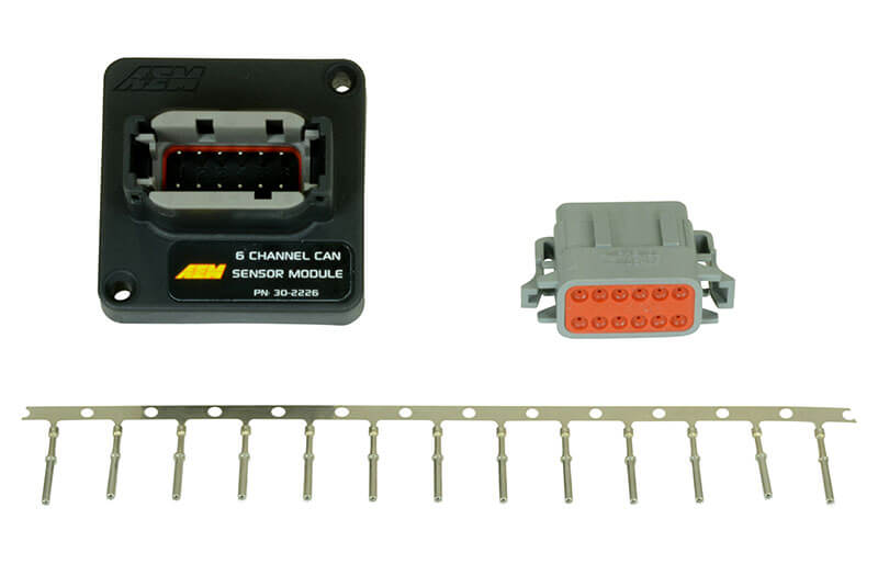 AEM Induction Systems (30-2226): 6-Channel CAN Sensor Module