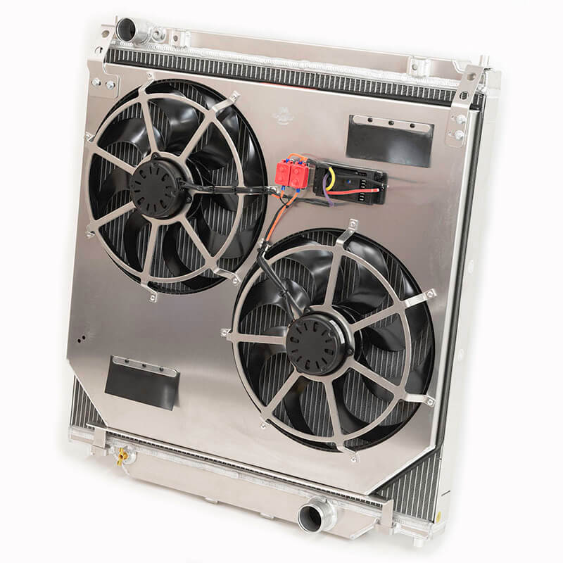 Flex-A-Lite (315360): Direct-Fit Extruded-Tube Core Radiator/Fan System for 6.0L Power Stroke Turbodiesel